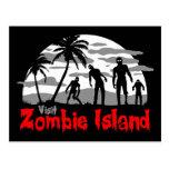 Visit Zombie Island Postcards