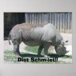 ¡Visita 006, dieta Schm-iet de 6506 parques zoológ Poster