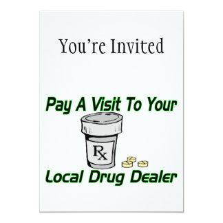 Visita a su traficante local comunicados personales