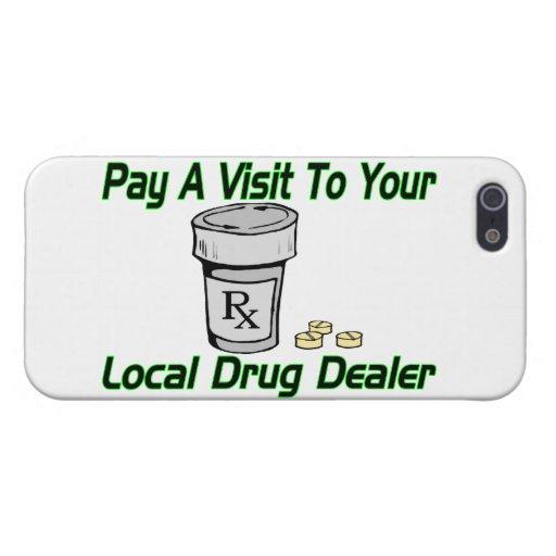 Visita a su traficante local iPhone 5 protectores