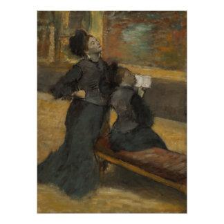 Visita a un museo de Edgar Degas