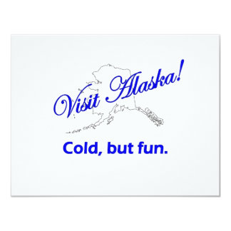 Visita Alaska, frío pero diversión Comunicado Personal