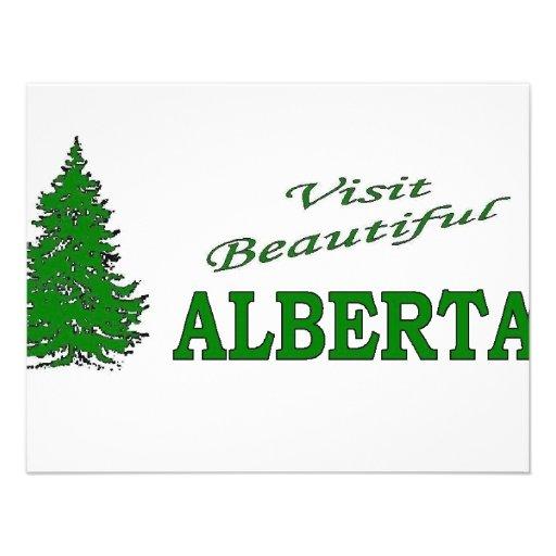 Visita Alberta hermosa Comunicado