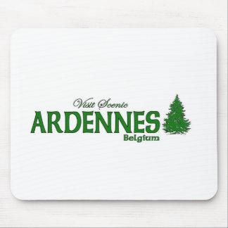 Visita Ardenas escénico Alfombrillas De Raton