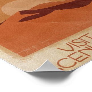 Visita Arrakis escénico - poster del viaje del vin