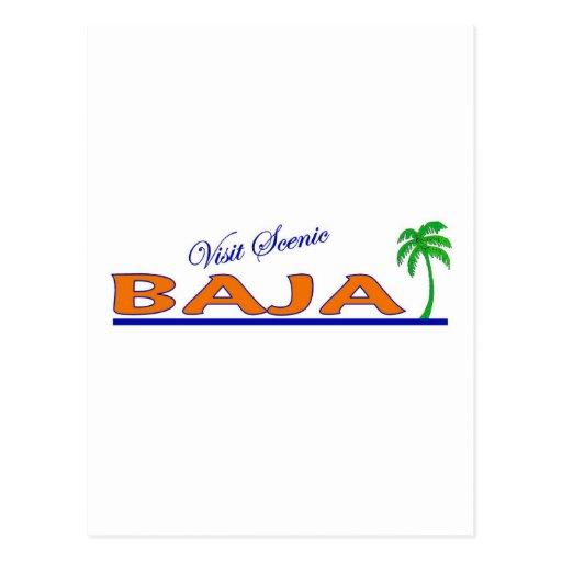Visita Baja escénico Tarjetas Postales