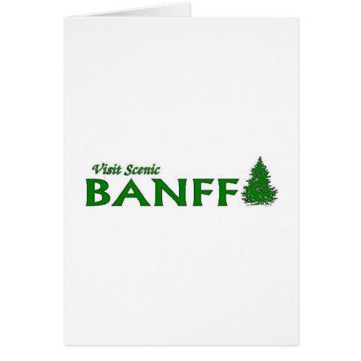 Visita Banff escénico Tarjeton