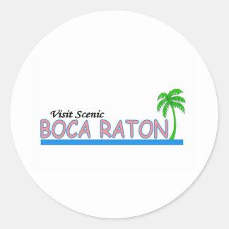 Visita Boca Raton escénico Etiqueta