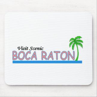 Visita Boca Raton escénico Alfombrilla De Ratón