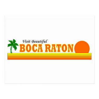 Visita Boca Raton hermoso Tarjetas Postales