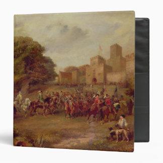 "Visita de James I a la torre de Houghton Carpeta 1 1/2"""