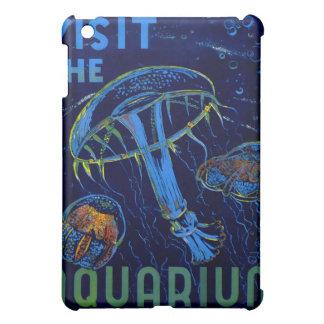 Visita de WPA del vintage el poster del acuario