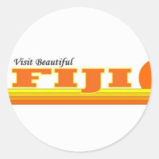 Visita Fiji hermosa Etiqueta