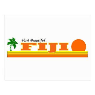 Visita Fiji hermosa Postal