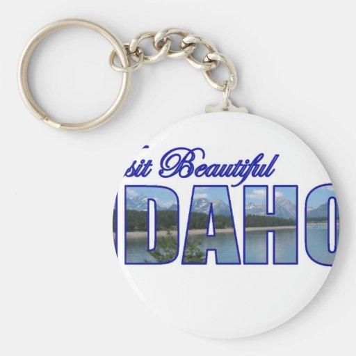 Visita Idaho hermoso Llavero