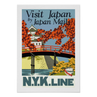Visita Japón por el correo de Japón Impresiones