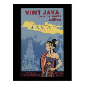 Visita Java solamente 36 horas de Singapur Postales