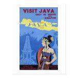 Visita Java Tarjeta Postal