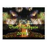 ¡Visita Malasia 2008! Tarjetas Postales