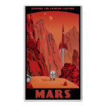 Visita Marte Póster