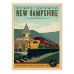 Visita New Hampshire escénico Tarjetas Postales
