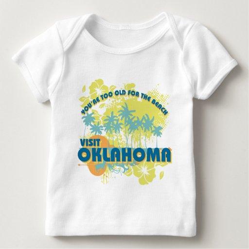 Visita Oklahoma Playera De Bebé