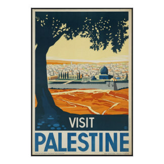 Visita Palestina Posters