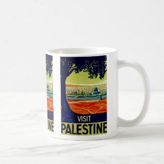 Visita Palestina Taza De Café