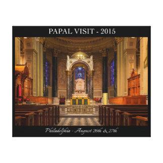 Visita papal a Philadelphia 2015 Impresion De Lienzo