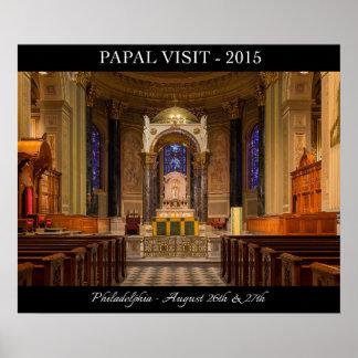 Visita papal al poster 2015 de Philadelphia