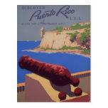 Visita Puerto Rico Tarjeta Postal