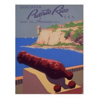Visita Puerto Rico Tarjetas Postales