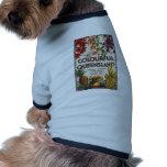 Visita Queensland colorido Camisetas De Perrito