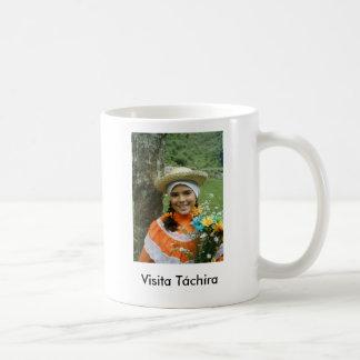 Visita Táchira Taza Básica Blanca