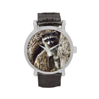 Visitante inesperado reloj de mano