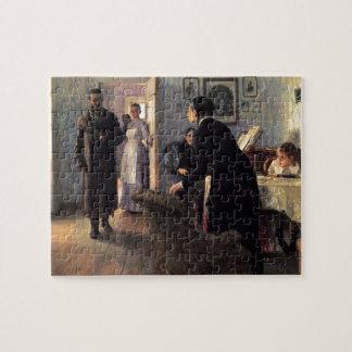 Visitantes inesperados de Ilya Repin- Rompecabeza Con Fotos