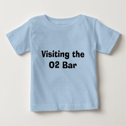 Visitar la barra O2 Playera De Bebé