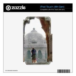 Visitar un monumento de la herencia iPod touch 4G calcomanías