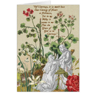 Visitation Blank Card Hilaire Belloc Courtesy