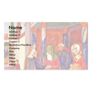Visitation By Fouquet Jean (Best Quality) Business Card
