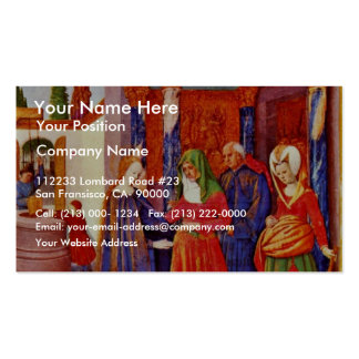 Visitation By Fouquet Jean (Best Quality) Business Cards