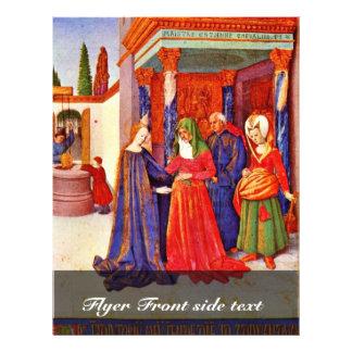 "Visitation By Fouquet Jean (Best Quality) 8.5"" X 11"" Flyer"