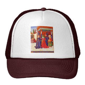 Visitation By Fouquet Jean (Best Quality) Mesh Hat