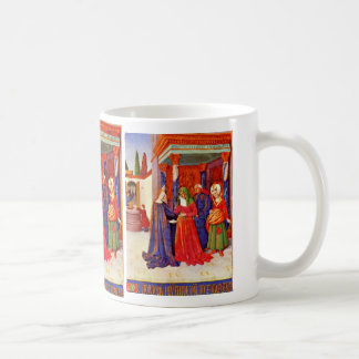 Visitation By Fouquet Jean (Best Quality) Mugs