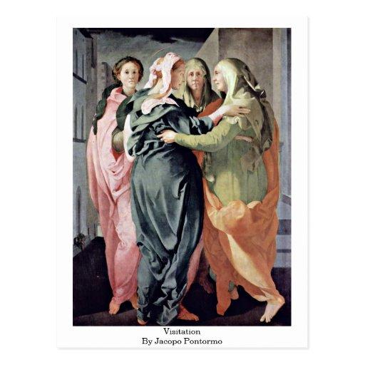 Visitation By Jacopo Pontormo Postcards
