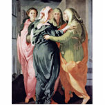 Visitation By Pontormo Jacopo Photo Cut Outs