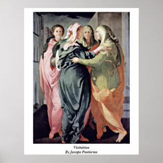 Visitation de Jacopo Pontormo Posters