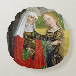 Visitation del altar de la bóveda, 1499 cojín redondo