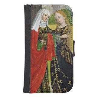 Visitation del altar de la bóveda, 1499 fundas billetera para teléfono