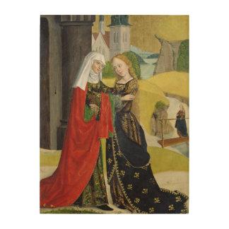 Visitation del altar de la bóveda, 1499 impresión en madera
